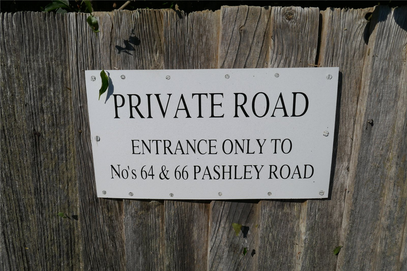 Pashley Road, Summerdown